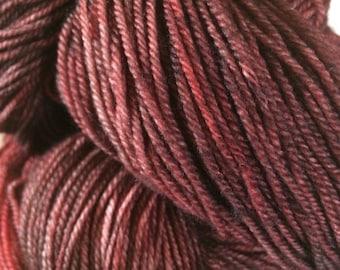 Red Velvet Cake Mann Creek Sock Yarn - Moon Stone Farm