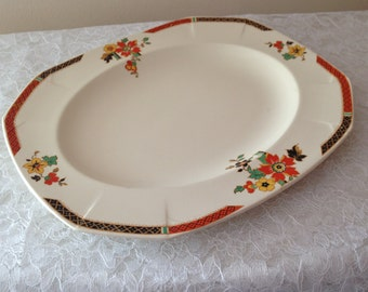 Collectible ART DECO Alfred Meakin Plate, Birthday gift for plate collectors