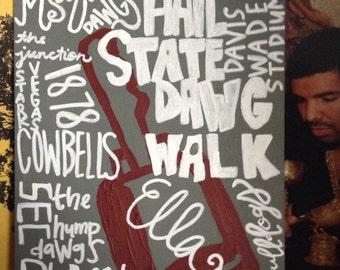 Mississippi State University canvas