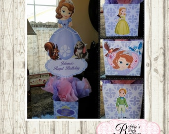 Sofia the firstCenterpiece, Sofia the First Birthday