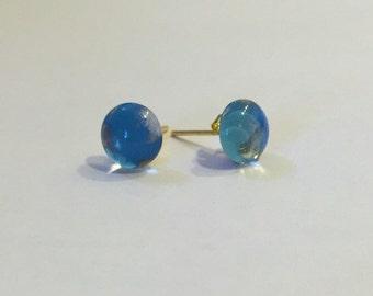Dreamy blue earrings