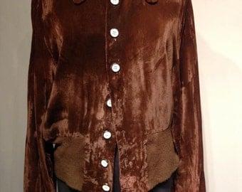 70s Velvet Jacket