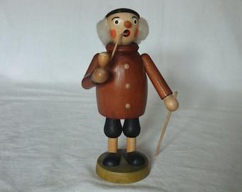 Vintage Erzgebirge Incense Smoker (Raucherman) - Germany
