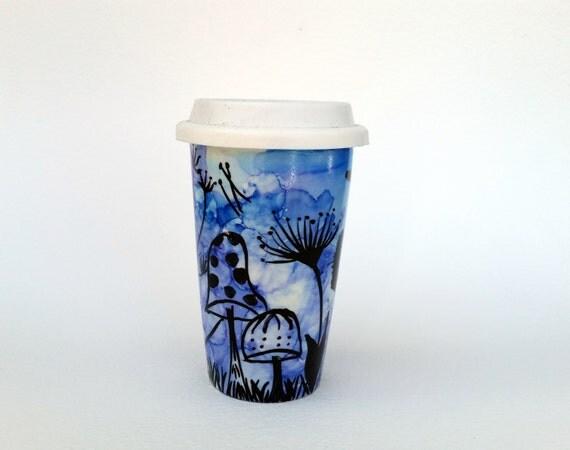 Items Similar To Travel Mugs Travel Coffee Mug Unique