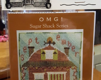 SEPTEMBER Honeycrisp Hideaway - Cross Stitch Chart OMG #29 Counted Confections