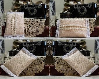 Shabby Chic Lace Pocket Tissue Holder/Cozy