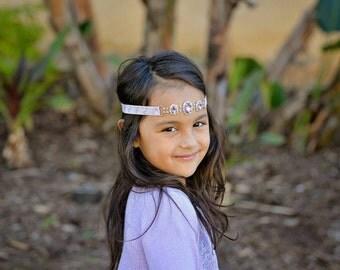 Sea horse headband, Mermaid headband, Ariel headband, Little Mermaid headband, Girls headband, Purple headband, Beach headband