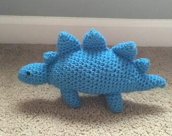 Crochet stegosaurus