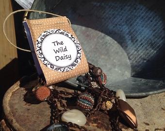 Boho wrap bracelet/necklace