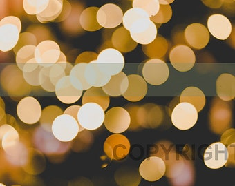 High quality fairy light bokeh stock photography