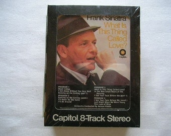 Vintage Album|Vintage Frank Sinatra 8 Track Tape|Capitol|Frank Sinatra|The Night We Called It a Day|What Is This Thing Called Love
