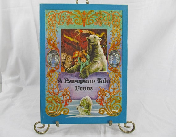 A European Tale Fram by Petrescu, Cezar Roydon, 1984 Hardcover Book First Edition Oversized Illustrated Children's