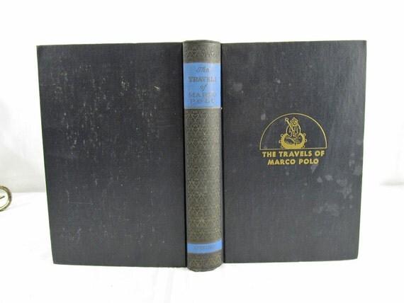 The Travels Of Marco Polo The Venetian, William Marsden translator, Boni & Liveright, New York 1930 Hardcover Kublai Khan Adventure Story