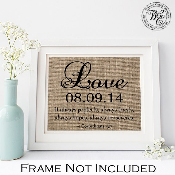 Unique Wedding Gifts Au : Christian Wedding Gift Personalized Wedding Gift for Couple Gift ...