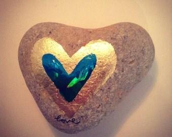Mermaid love stone 6cm