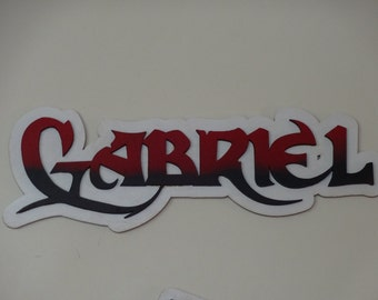 Personalized Name wall  or door plaque