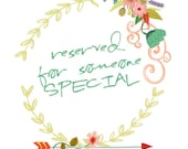 Reserved for Chantaldee - Have Courage and Be Kind - quote from Cinderella INSTANT download 24x36 size