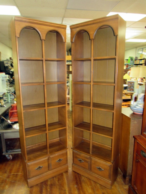 Mid Century Shelving units two matching