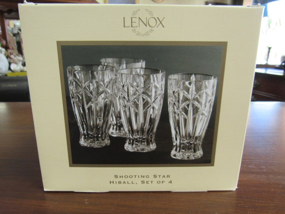 Lenox Highball Glasses set of 4 Mint in Box