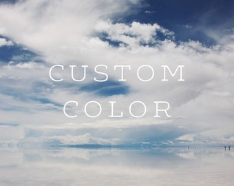 custom color (add-on)
