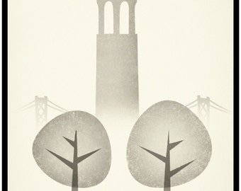 Lammers' New Views For Modern Man,  COIT TOWER!  Classic Vintage Gay Couple In Love... In San Francisco