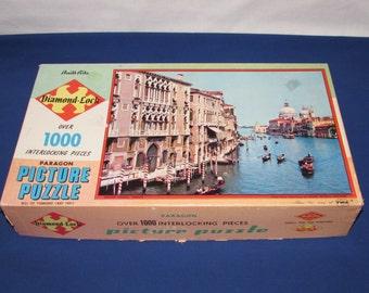 BUILT-RITE Interlocking Picture Puzzle 1000 Pieces CHALLENGING