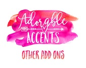 Other Add Ons - For License Plates, Phone Cases, Beach Towels & Tablet/Laptop Sleeves!
