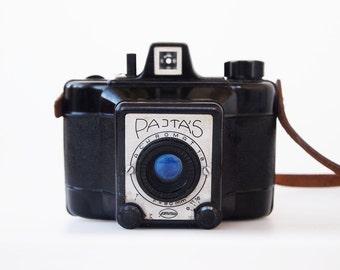 Very RARE Gamma Pajtás (Buddy) 6x6 vintage camera by the Gamma Hungarian Optical Works