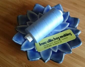 SEWING THREAD Sky Blue Light Blue Moon polyester thread - 1 spool - All Purpose Sewing Thread - Coats Moon Thread - Colour - M026