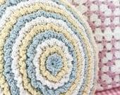 Crochet Round Ruffle Cushion Pattern * Instant Digital Download (Pdf)