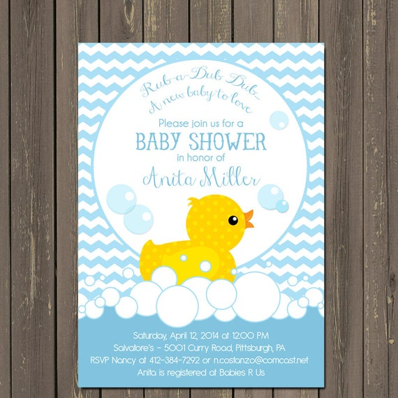rubber duck baby shower invitations rubber ducky shower invite pink
