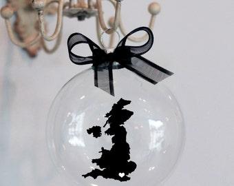 United Kingdom, England Christmas Ornament, Custom, Travel, Mission,