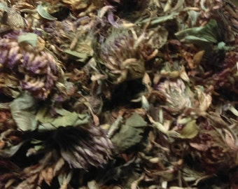 1 oz. Organic red clover herb