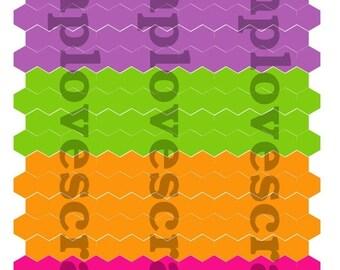 BIRTHDAY SALE Summertime Hexagons for Erin Condren Life Planner or any Planner.