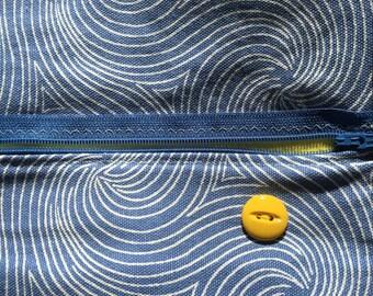 Blue Swirl w/Yellow - Small Rescue Bag