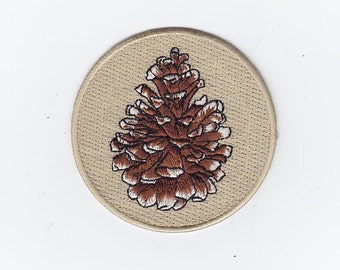 Pine Cone nature patch