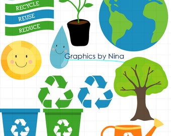 Earth day clipart – Etsy