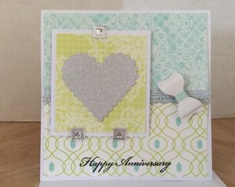 Happy Anniversary Heart Card L-03