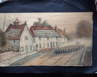 Original Watercolour from 1890's