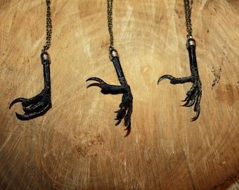 Jackdaw necklace