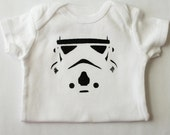 Star Wars Inspired Storm Tooper Onesie,  Star Wars Baby Clothes, Baby Shower Gift Ideas, Geeky Baby