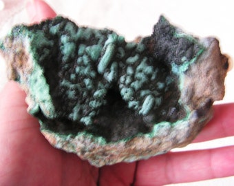 Chrysocolla, turquoise, malachite, crystal, mineral, raw natural gemstone #3