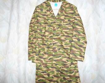Boys Size 14 Camouflage Pajamas
