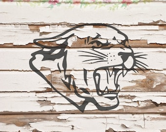 Cougar, Cat SVG, PNG, DXF files, instant download