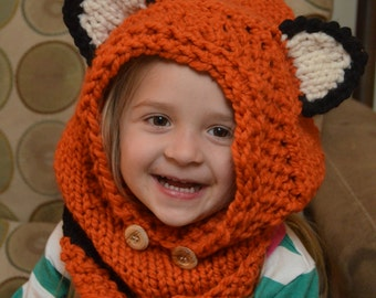 Failynn Fox Cowl -- IN STOCK