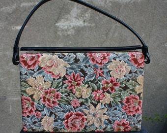 Vintage 1960s Tapestry, Handbag