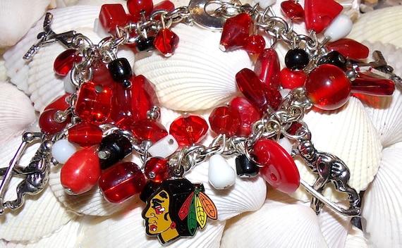 Blackhawks  Bracelet