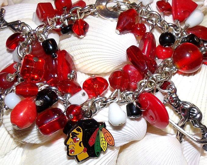 Blackhawks  Bracelet