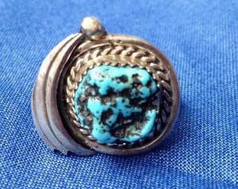 Ladies' Southwestern Native American Turquoise Ring
