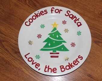 Cookies for Santa Plates/Cup
